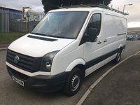 USED 2014 64 VOLKSWAGEN CRAFTER 2.0 CR35 TDI H/R P/V 1d 107 BHP MWB FLAT ROOF