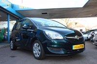 2015 VAUXHALL MERIVA 1.4 TURBO EXCLUSIV AC 5dr 138 BHP £5995.00