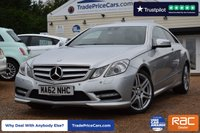 USED 2012 62 MERCEDES-BENZ E-CLASS 3.0 E350 CDI BLUEEFFICIENCY SPORT 2d AUTO 265 BHP