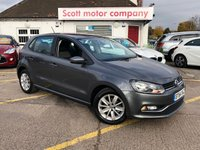 USED 2015 64 VOLKSWAGEN POLO 1.2 SE TSi 5 door 89 BHP
