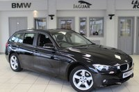 USED 2014 64 BMW 3 SERIES 2.0 318D SE TOURING 5d 141 BHP - full bmw service history  FULL BMW SERVICE HISTORY + BLUETOOTH + DAB RADIO + REAR PARKING SENSORS + CRUISE CONTROL + 17 INCH ALLOYS