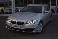 USED 2014 64 BMW 5 SERIES 2.0 520D SE TOURING 5d AUTO 181 BHP FINANCE TODAY WITH NO DEPOSIT
