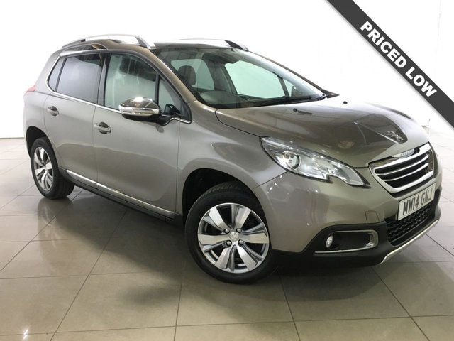 View our 2014 14 PEUGEOT 2008 1.6 E-HDI ALLURE FAP 5d AUTO 92 BHP