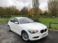 2014 BMW 1 SERIES 1.6 116D EFFICIENTDYNAMICS 5d 114 BHP £7990.00