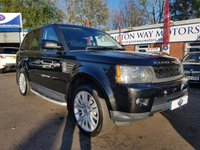 USED 2010 60 LAND ROVER RANGE ROVER SPORT 3.0 TDV6 HSE 5d 245 BHP 0%  FINANCE AVAILABLE ON THIS CAR PLEASE CALL 01204 317705