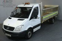 USED 2012 62 MERCEDES-BENZ SPRINTER 2.1 313 CDI LWB 129 BHP RWD DROPSIDE WITH TAIL LIFT REAR BED LENGTH 14 FOOT