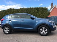 2015 KIA SPORTAGE 1.7 CRDI 1 5d  ONE PRIVATE OWNER FROM NEW  £10000.00