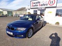 USED 2010 10 BMW 1 SERIES 2.0 118D M SPORT AUTO 141 BHP £45 PER WEEK, NO DEPOSIT - SEE FINANCE LINK