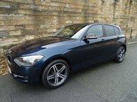 2014 BMW 1 SERIES 1.6 116I SPORT 5d 135 BHP £10930.00