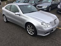 2006 MERCEDES-BENZ C CLASS 1.8 C180 KOMPRESSOR SE SPORTS 3d 141 BHP £3200.00