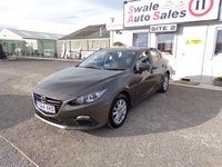 USED 2014 64 MAZDA 3 2.0 SE 118 BHP £41 PER WEEK, NO DEPOSIT - SEE FINANCE LINK
