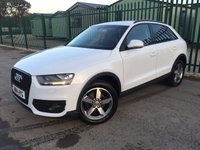 2014 AUDI Q3 2.0 TDI SE 5d 138 BHP SAT NAV LEATHER ONE OWNER  £12390.00