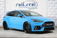 USED 2017 67 FORD FOCUS 2.3 RS 5d 346 BHP LUX PACK, SAT NAV, FORGED ALLOYS/ SHELL SEATS ACTIVE CITY STOP!!