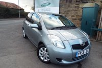 USED 2009 58 TOYOTA YARIS 1.3 TR VVTI 3d 86 BHP Sold With 12 Months MOT And Fresh Oil Service