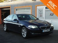 USED 2012 12 BMW 5 SERIES 2.0 520D SE 4d 181 BHP 7  Service stamps- 1 Owner - Heated front seats- Bluetooth -