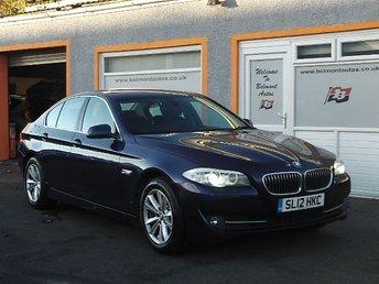 2012 BMW 5 SERIES 2.0 520D SE 4d 181 BHP £9499.00