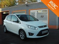USED 2013 63 FORD C-MAX 1.6 ZETEC 5d 104 BHP Low mileage -Bluetooth - Parking sensors