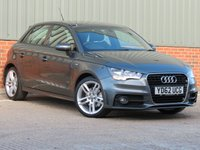 USED 2012 62 AUDI A1 1.4 SPORTBACK TFSI S LINE 5d 122 BHP ONE OWNER FROM NEW , FANTASTIC CONDITION