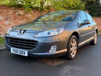USED 2010 10 PEUGEOT 407 1.6 S HDI 4d 108 BHP 2 OWNERS SAME FAMILY, FULL SERVICE HISTORY, MOT OCT 19, EXCELLENT CONDITION,  AIR CON, E/WINDOWS, R/LOCKING, FREE  WARRANTY, FINANCE AVAILABLE, HPI CLEAR, PART EXCHANGE WELCOME,