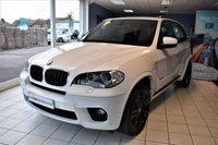 USED 2013 63 BMW X5 3.0 XDRIVE30D M SPORT 5d AUTO 241 BHP COMMAND SHIFT LOW-MILES FULL BMW HISTORY