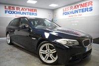 2011 BMW 5 SERIES 2.0 520D M SPORT TOURING 5d AUTO 181 BHP £10999.00
