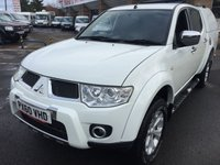 2010 MITSUBISHI L200 2.5 DI-D 4X4 BARBARIAN LB DCB 1d 175 BHP REAR CANOPY LEATHER FSH NO VAT £9900.00