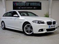 2016 BMW 5 SERIES 2.0 520D M SPORT TOURING 5d AUTO 188 BHP £17780.00