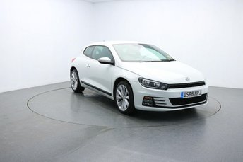2016 VOLKSWAGEN SCIROCCO 1.4 GT TSI BLUEMOTION TECHNOLOGY 2d 123 BHP £14395.00