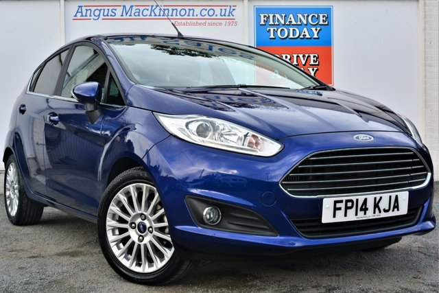 2014 14 FORD FIESTA 1.0 TITANIUM Petrol 5dr Family Hatchback with Zero Road Tax and High 65mpg