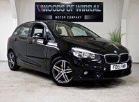 2015 BMW 2 SERIES 1.5 218I SPORT ACTIVE TOURER 5d AUTO 134 BHP £10980.00