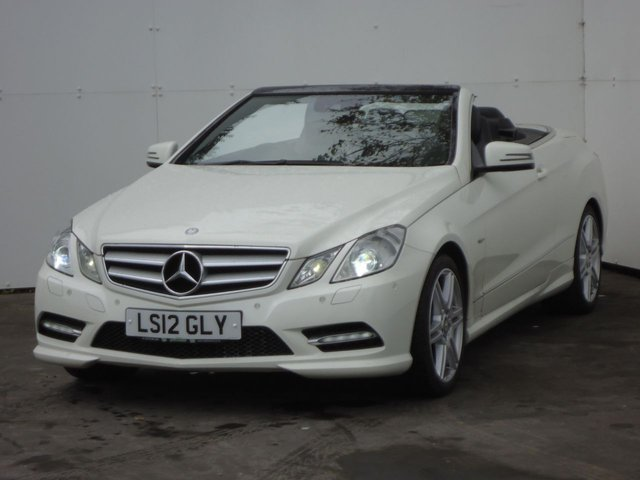 2012 12 MERCEDES-BENZ E CLASS 2.1 E220 CDI BLUEEFFICIENCY SPORT 2d AUTO 170 BHP