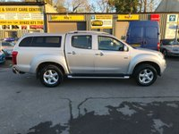 USED 2015 64 ISUZU D-MAX 2.5 TD UTAH DOUBLE CAB 4 DOOR 164 BHP IN SILVER WITH ONLY 42000 MILES AND A TRUCKMAN REAR TOP IN IMMACULATE CONDITION. APPROVED CARS ARE PLEASED TO OFFER THIS ISUZU D-MAX 2.5 TD UTAH DOUBLE CAB 4 DOOR 164 BHP IN SILVER WITH ONLY 42000 MILES IN IMMACULATE CONDITION THAT IS A ONE OWNER WITH  A FULL ISUZU SERVICE HISTORY SERVICED AT 11K,23K,34K AND 42K (BY OURSELVES) WITH A GREAT SPEC INCLUDING PARKING SENSORS,ALLOYS,TRUCK MAN REAR BOX AND MUCH MORE A GREAT TRUCK THAT IS READY FOR WORK.