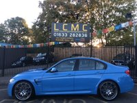 2017 BMW M3 3.0 M3 COMPETITION PACKAGE 4d 444 BHP £45000.00