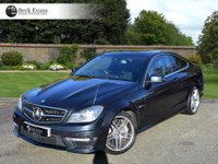 USED 2012 62 MERCEDES-BENZ C CLASS 6.2 C63 AMG 2d 457 BHP