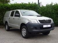 USED 2014 64 TOYOTA HI-LUX 2.5 ACTIVE 4X4 D-4D DCB 1d 142 BHP One Owner From New, Air Conditioning, Tinted Glass, Finished In Silver Metallic Paintwork, AUX, USB, Electric Windows, Electric Mirrors, Ready To Drive Away In Under 1 Hour