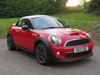 USED 2012 12 MINI COUPE 1.6 COOPER S 2d 181 BHP UNDER £40 A WEEK!