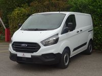 USED 2018 18 FORD TRANSIT CUSTOM 2.0 300 BASE P/V L1 H1 1d 104 BHP Excellent Condition Van, Side + Rear Opening Door, Tinted Glass, USB, Electric Windows, Steering Wheel Controls, Excellent Fuel Economy, Ready To Drive Away