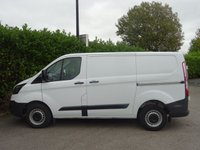 USED 2017 67 FORD TRANSIT CUSTOM 2.0 290 LR P/V 1d 104 BHP Air Conditioning, Bluetooth, Tinted Glass, Excellent Condition, Electric Windows, Side + Rear Opening Doors, Excellent Fuel Economy, Steering Wheel With Controls, Ready To Drive Away