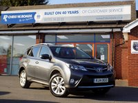 USED 2014 14 TOYOTA RAV4 2.0 D-4D INVINCIBLE 5dr  * Leather + Reverse Camera + DAB *
