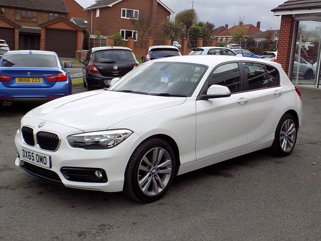 USED 2015 65 BMW 1 SERIES 1.5 116D SPORT 5dr  ** Comfort Pack + Bluetooth **