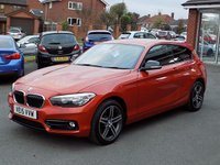 USED 2015 15 BMW 1 SERIES 1.6 118I SPORT 3dr (135) ** Comfort Pack + Bluetooth **