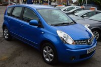 2007 NISSAN NOTE 1.4 ACENTA 5d 88 BHP £2600.00
