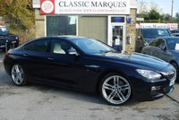 USED 2014 C BMW 6 SERIES 3.0 640D M SPORT GRAN COUPE 4d AUTO 309 BHP