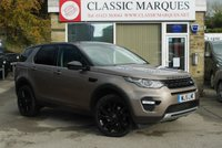 2015 LAND ROVER DISCOVERY SPORT 2.2 SD4 HSE BLACK EDITION 5d AUTO 190 BHP £25495.00