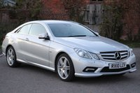 2010 MERCEDES-BENZ E CLASS 3.0 E350 CDI BLUEEFFICIENCY SPORT 2d AUTO 231 BHP £10995.00