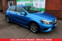 USED 2015 65 MERCEDES-BENZ A CLASS 2.1 A200 CDI SPORT 5d 136 BHP +SAT NAV +FULL SH +LOW TAX.