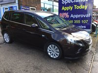 2014 VAUXHALL ZAFIRA TOURER 2.0 SE CDTI 5d 162 BHP, only 33000 miles, 1 Owner £9495.00