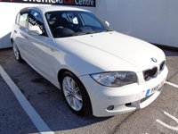 USED 2011 61 BMW 1 SERIES 2.0 120D M SPORT 5d 175 BHP HALF LEATHER CRUISE CONTROL HEATED WINDSCREEN CLIMATE CONTROL FULL SERVICE HISTORY