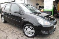 2008 FORD FIESTA 1.6 GHIA 16V 5d AUTO 100 BHP £3800.00