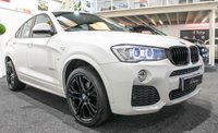 "USED 2015 65 BMW X4 3.0 XDRIVE30D M SPORT 4d AUTO 255 BHP BLACK PACK+20""ALLOYS+SKY GLASS ROOF"